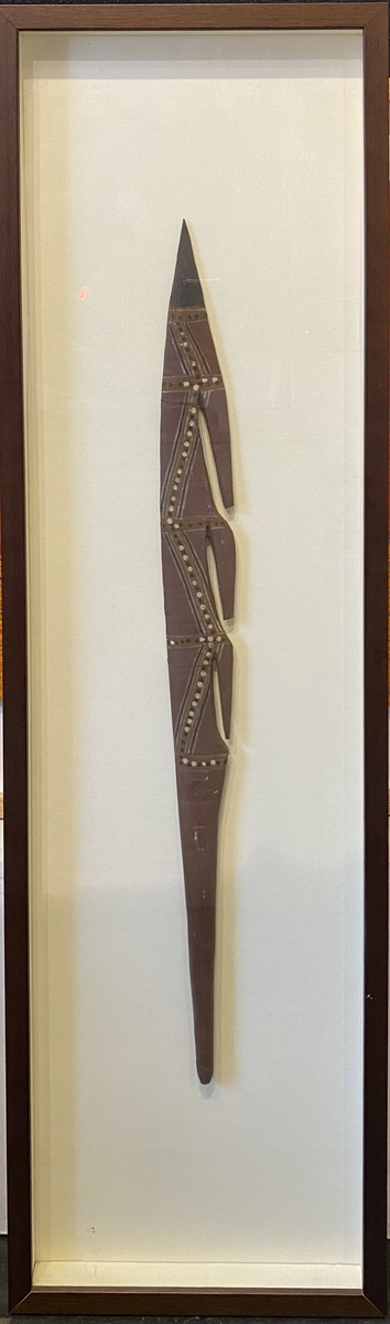 Spear Head in Frame